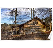 Log Cabin @ Yates Mill Poster