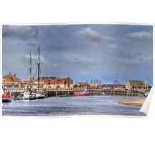 Wells Harbour Poster