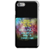What Is Overcome iPhone Case/Skin