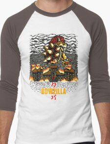 BOWZILLA Men's Baseball ¾ T-Shirt