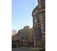 St Cuthbert's Church and Edinburgh Castle Photographic Print