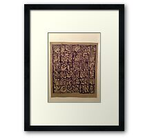 Bed Picture 30 Framed Print