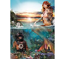 Mermaiden Photographic Print