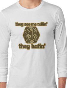 d20 geek Long Sleeve T-Shirt