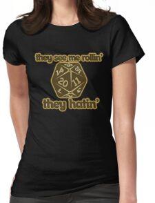d20 geek Womens Fitted T-Shirt
