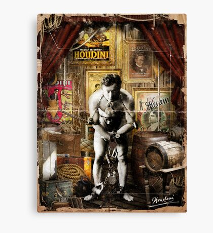 Houdini Canvas Print
