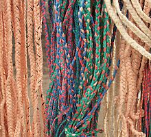 Colored Braided Rope by rhamm