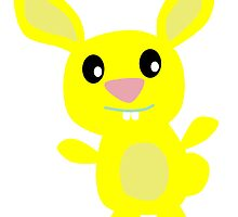 Yellow Bunny by kwg2200
