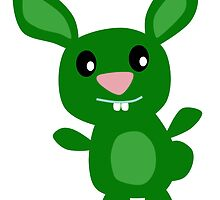 Green Bunny by kwg2200
