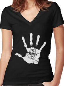 Lost - Not Penny's Boat Women's Fitted V-Neck T-Shirt
