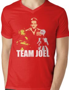 MST3K Team Joel Mens V-Neck T-Shirt