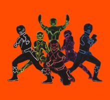 Power Rangers Neon Kids Tee