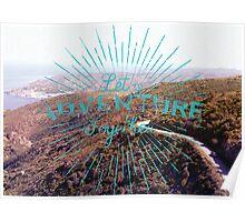 Let's Adventure Together Poster