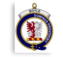 Boyle Clan Badge Canvas Print