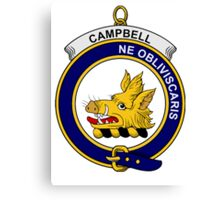 Campbell Clan Badge Canvas Print