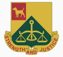 175th Military Police Battalion - Strength And Justice by VeteranGraphics