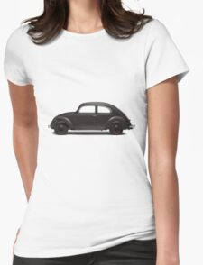 1938 KdF Wagen - Side Profile View Womens Fitted T-Shirt