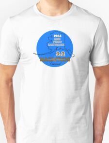 1964 GOOD FRIDAY CIRCLE ~ BLUE T-Shirt