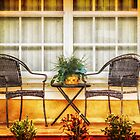 Front Porch for Two by Owed to Nature