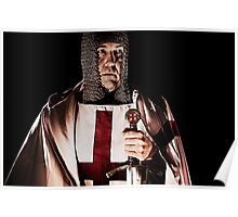 Founding of the Knights Templar Poster