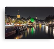 Colors of Strasbourg Canvas Print