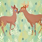 Bambi and Faline by rachels1689