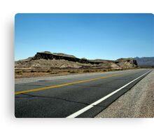 California Highway Canvas Print