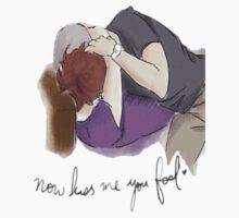 Kiss me you fool by LarryLovinson