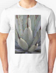 Agave Thorns -Cactus Macro, Natural Pattern Unisex T-Shirt