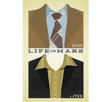 Life on Mars - Gene Hunt/Sam Tyler Wardrobe  Photographic Print