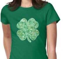 Irish St Patricks Day Shamrock Womens Fitted T-Shirt