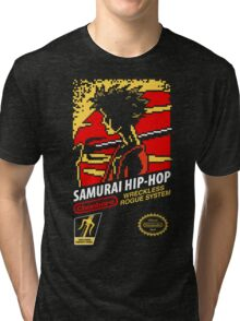 Samurai Hip-Hop Tri-blend T-Shirt