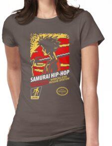 Samurai Hip-Hop Womens Fitted T-Shirt