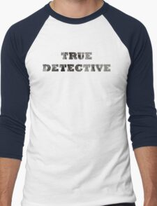 True Detective - T-Shirt - Matthew McConaughey Men's Baseball ¾ T-Shirt
