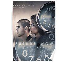 Future Now The Tour 2016 Demi Lovato Nick Jonas AM2 Poster