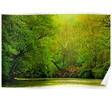 Springtime Down On The River Poster