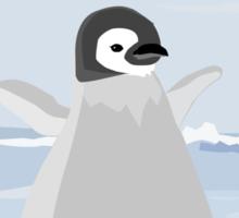 Penguin Kid Sticker