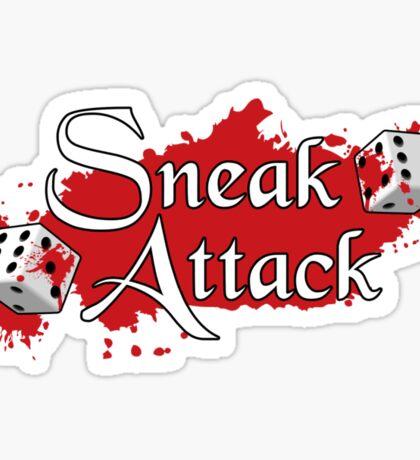 Sneak Attack Sticker