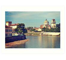 San Giorgio Vista, Verona Art Print