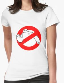 Baymax - Ghostbusters Womens Fitted T-Shirt