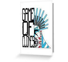 Game of Clones Greeting Card