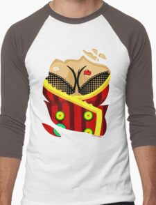 Moxxi - Red Men's Baseball ¾ T-Shirt