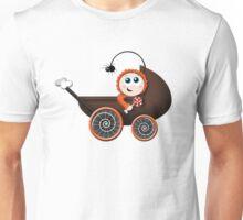 Cute Halloween Baby Carriage Unisex T-Shirt