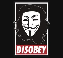 "Anonymous Che Guevara ""Disobey"" by DesignDesign"