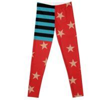 Kat Von D Stars & Stripes USA Flag Leggings Leggings