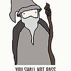 Gandalf by hispurplegloves
