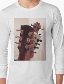 Guitar Heads Long Sleeve T-Shirt