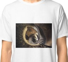 Abandoned spiral staircase Classic T-Shirt