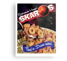 Dalek Breakfast Metal Print