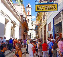 Havana Street View by Valentino Visentini